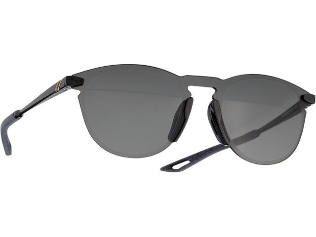 100% Legere UltraCarbon Round Gafas, negro